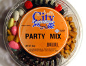 Party Round Container Large 4 or 6 Comp. 28 oz.