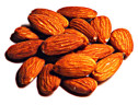 Almonds Roasted Unsalted  1 lb.