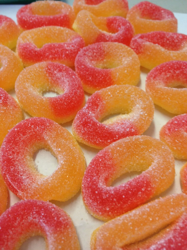 Peach Ring Candy Calories