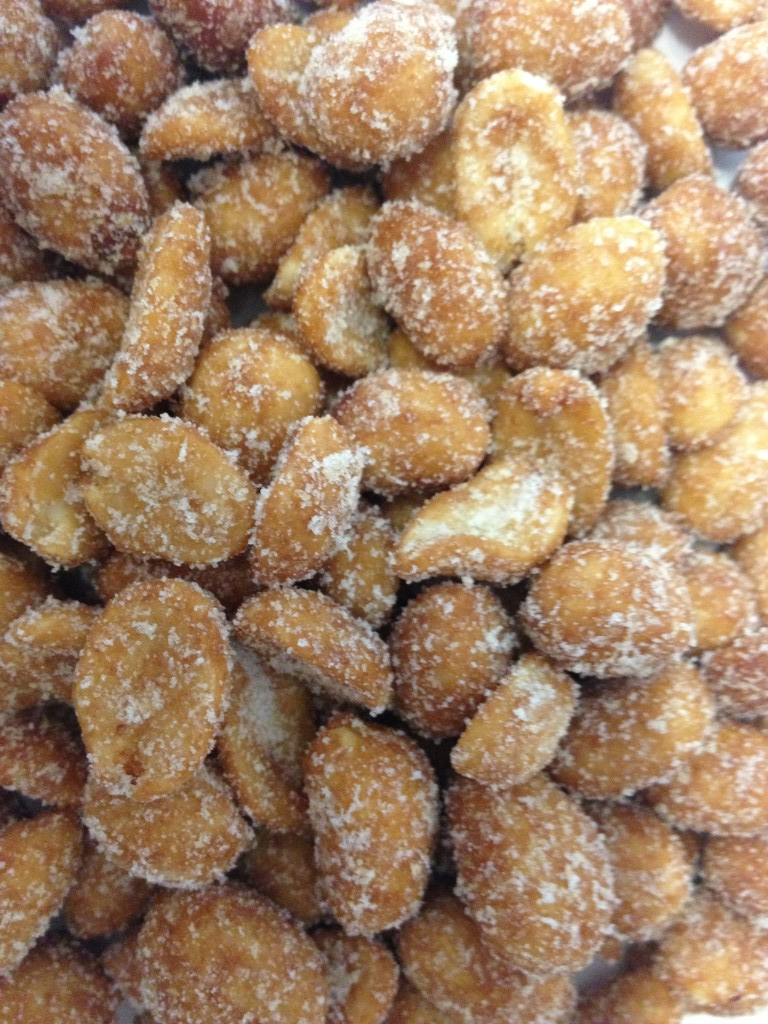 Honey Roasted Peanuts 1 lb | City Nut And Candy