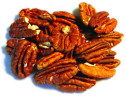 Roasted Unsalted Pecans  1 lb.