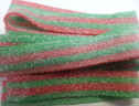 Sour Watermelon Belts Kosher Parve 3.3 lbs.